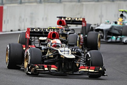 Lotus says double podium shows long-wheelbase car soft on tyres