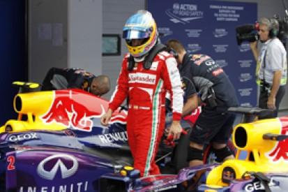 Fernando Alonso says it's a miracle Ferrari still has F1 title hope