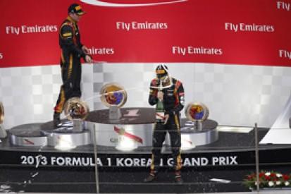 Korean GP: Lotus says Romain Grosjean accepts team order refusal