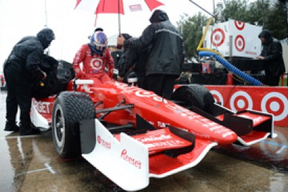 Houston IndyCar: Scott Dixon given pole after qualifying rain-out