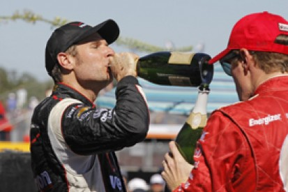 Houston IndyCar: Will Power wins, Dario Franchitti in big crash