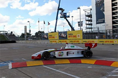 Houston Indy Lights: qualifying scrapped over scheduling chaos