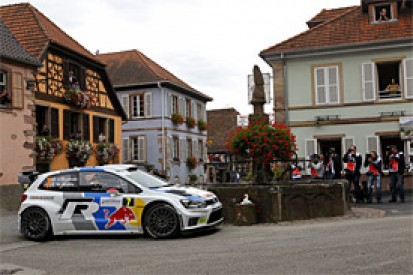 WRC France: Jari-Matti Latvala moves into the lead