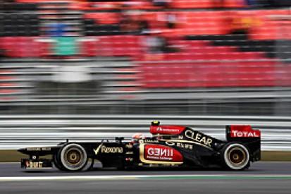 Korean GP: Grosjean believes Lotus front-row slot was possible
