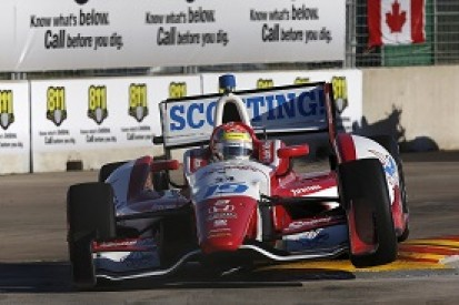 Justin Wilson fastest in stop-start second IndyCar Houston practice