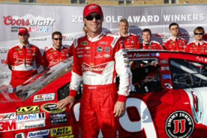 NASCAR Kansas: Kevin Harvick claims pole for Childress