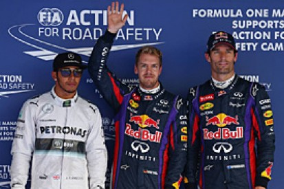 Korean GP: Sebastian Vettel beats Lewis Hamilton to pole position