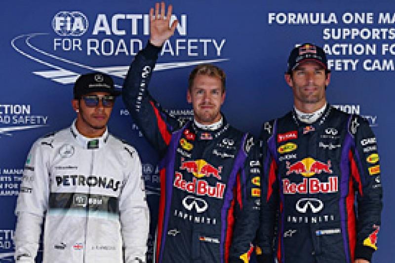 Korean GP: Sebastian Vettel beats Lewis Hamilton to pole position