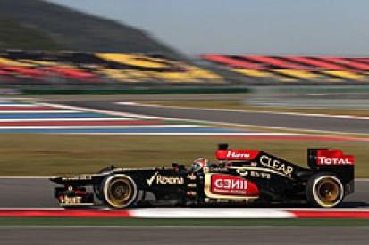 Korean GP: Lotus to stick with long wheelbase F1 car