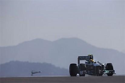Korean GP: Lewis Hamilton sets FP1 pace as Raikkonen crashes