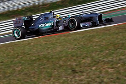 Korean GP: Lewis Hamilton stays on top in second F1 practice