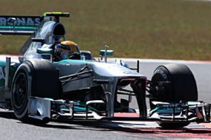 Korean GP: Hamilton says Mercedes in much better shape