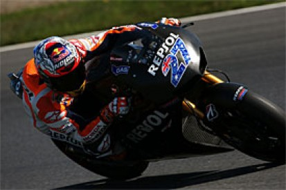 Casey Stoner tests Honda's production MotoGP bike