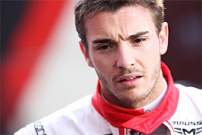 Jules Bianchi will remain with the Marussia Formula 1 team for 2014