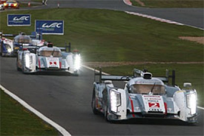 LMP1 factory teams in 2014 WEC able to score points with two cars