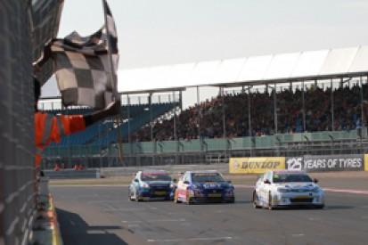 Silverstone BTCC: Jason Plato fends off Andrew Jordan to win again
