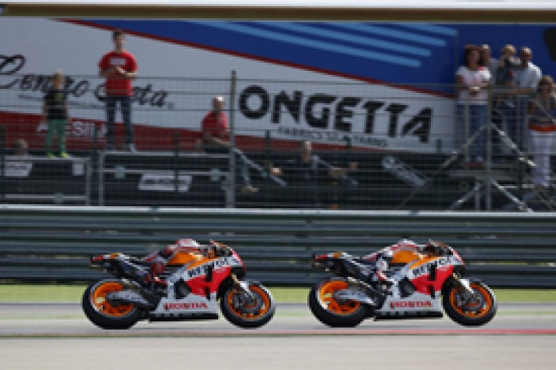 Aragon MotoGP: Honda confirms Marquez contact caused Pedrosa crash