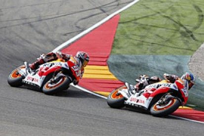Pedrosa critical of Marquez's riding after Aragon acccident