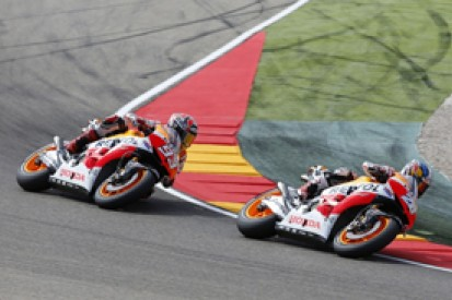 Aragon MotoGP: Dani Pedrosa not seriously hurt in Marc Marquez crash