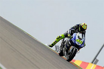 Aragon MotoGP: Valentino Rossi sets pace in third practice