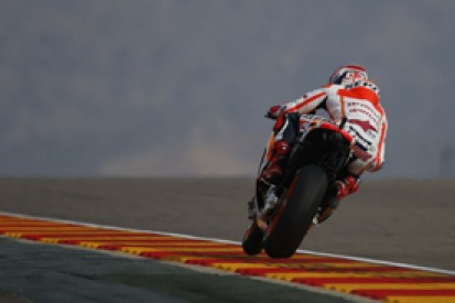 Aragon MotoGP: Marquez takes charge in second practice