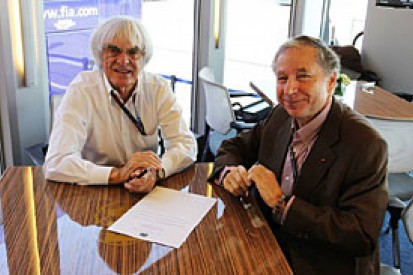 Formula 1 chiefs sign new Concorde Agreement