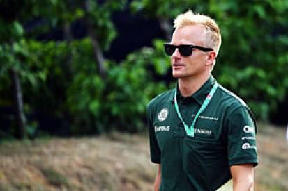 Heikki Kovalainen in contention for Caterham F1 drive in 2014