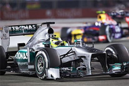 Wolff says Mercedes F1 team can be proud of 'major step' in 2013