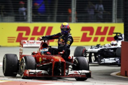 FIA to urge against F1 'taxi' lifts after Webber/Alonso in Singapore
