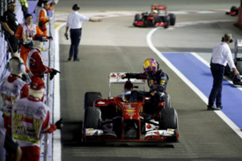 Analysis: why Webber and Alonso were punished for 'taxi' ride