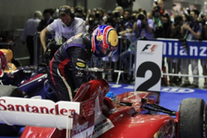 Singapore GP: Hamilton 'shocked' by Alonso and Webber taxi moment
