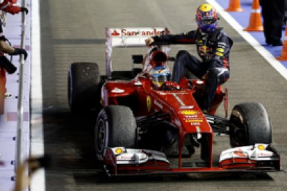 Webber gets grid penalty after reprimand for Alonso Singapore lift
