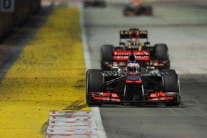 Singapore GP: McLaren podium never likely, says Jenson Button