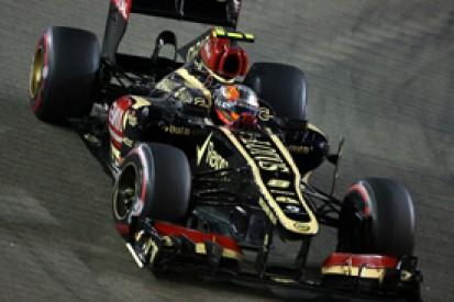 Singapore GP: Lotus reprimaned over missing helmet at pitstop