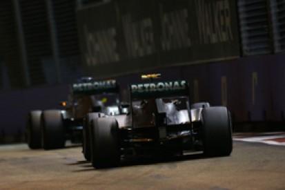 Singapore GP: Mercedes' Lewis Hamilton, Nico Rosberg dissatisfied