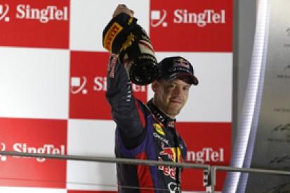 Singapore GP - Sebastian Vettel: Red Bull not at fault for dull GPs