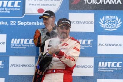 Suzuka WTCC: Yvan Muller earns fourth title, Norbert Michelisz wins
