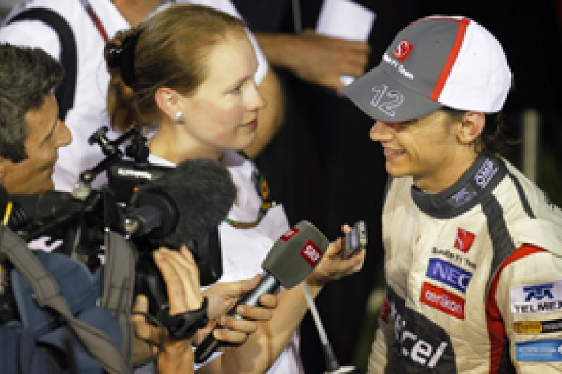 Singapore GP: Sauber vindicated by Esteban Gutierrez's big step