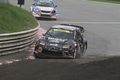 Petter Solberg sets early European Rallycross pace in Germany