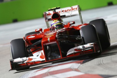 Ferrari admits it has fallen back again in Singapore