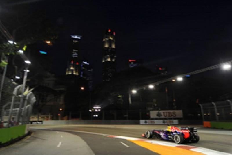 Singapore GP: Sebastian Vettel fastest in second practice