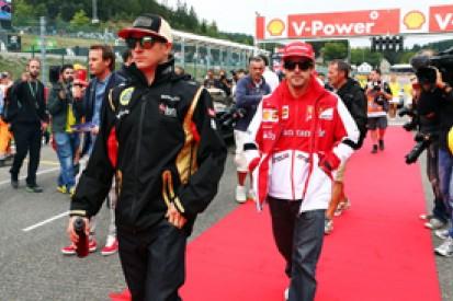 Ferrari sure Fernando Alonso and Kimi Raikkonen won't clash in 2014