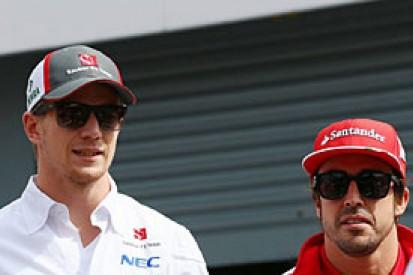 Nico Hulkenberg holds no grudge against Ferrari over 2014 F1 seat