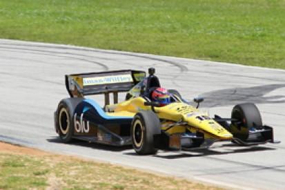 Jack Hawksworth makes IndyCar test debut with Rahal Letterman team