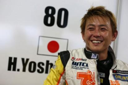 Hiroki Yoshimoto takes Michel Nykjaer's World Touring Car seat
