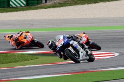 Marc Marquez not rattled by Yamaha and Jorge Lorenzo's progress