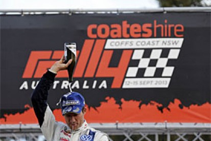 WRC Australia: Sebastien Ogier wins but must wait for title