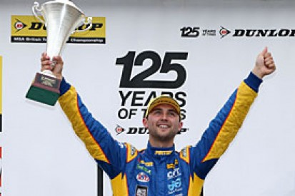 Rockingham BTCC: Jordan takes championship lead after race-one win