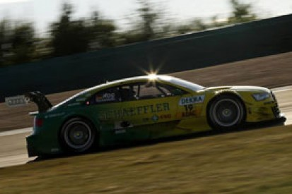 DTM Oschersleben: Mike Rockenfeller puts Audi on top in practice