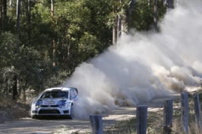 WRC Australia: Sebastien Ogier leads from Kris Meeke